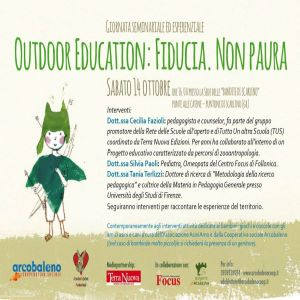 Outdoor education. Fiducia. Non Paura